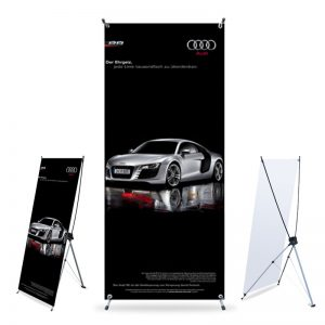 banner and stand