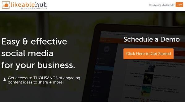 Create great Twitter content with Likeable Hub