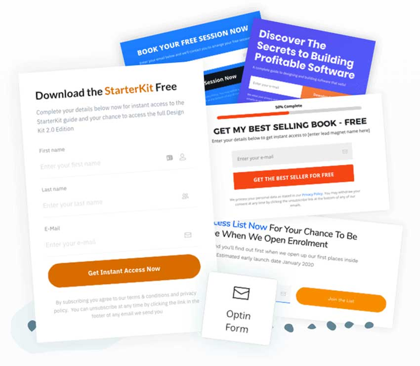 Landing Page Form Examples