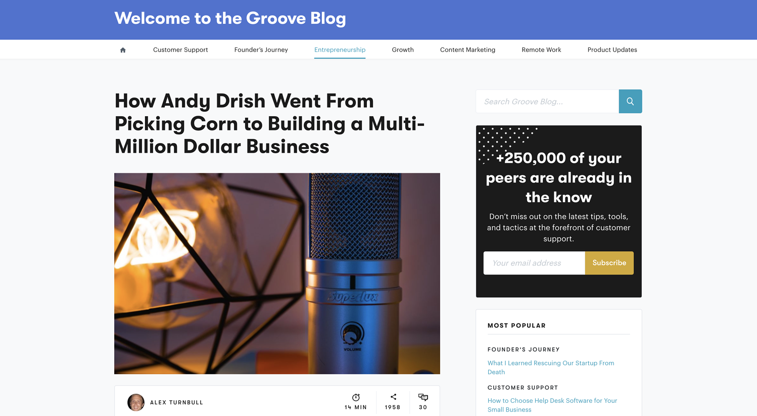 groove interview the foundation creative lead generation ideas