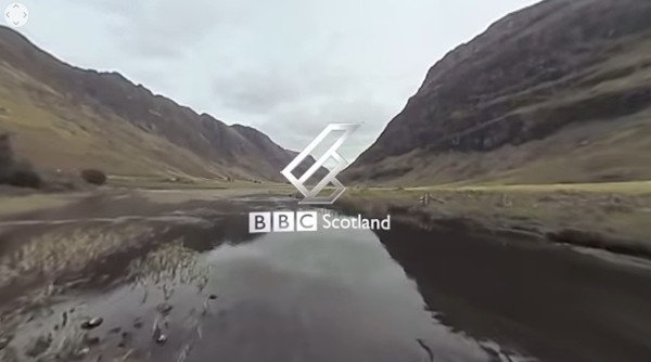 Immersive Video | Scotland from the Sky