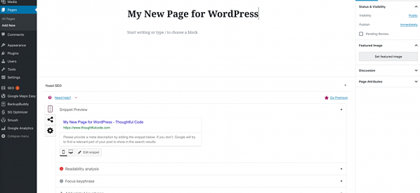 create-new-page-in-wordpress