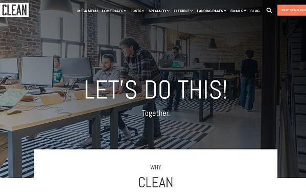 clean hubspot about page