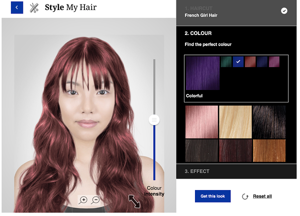 loreal hair preview service online