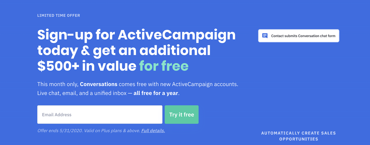 activecampaign email marketing service
