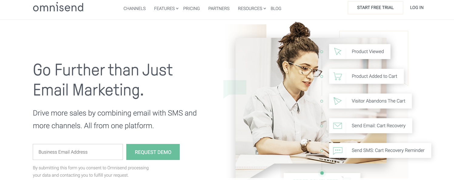 omnisend email marketing service