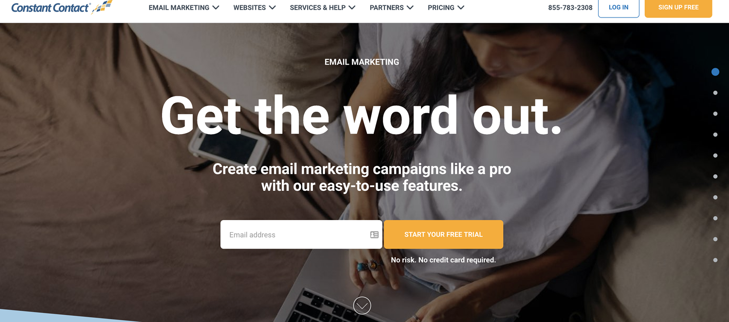 constant contact email marketing service