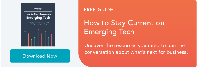 Stay Current on Emerging Tech