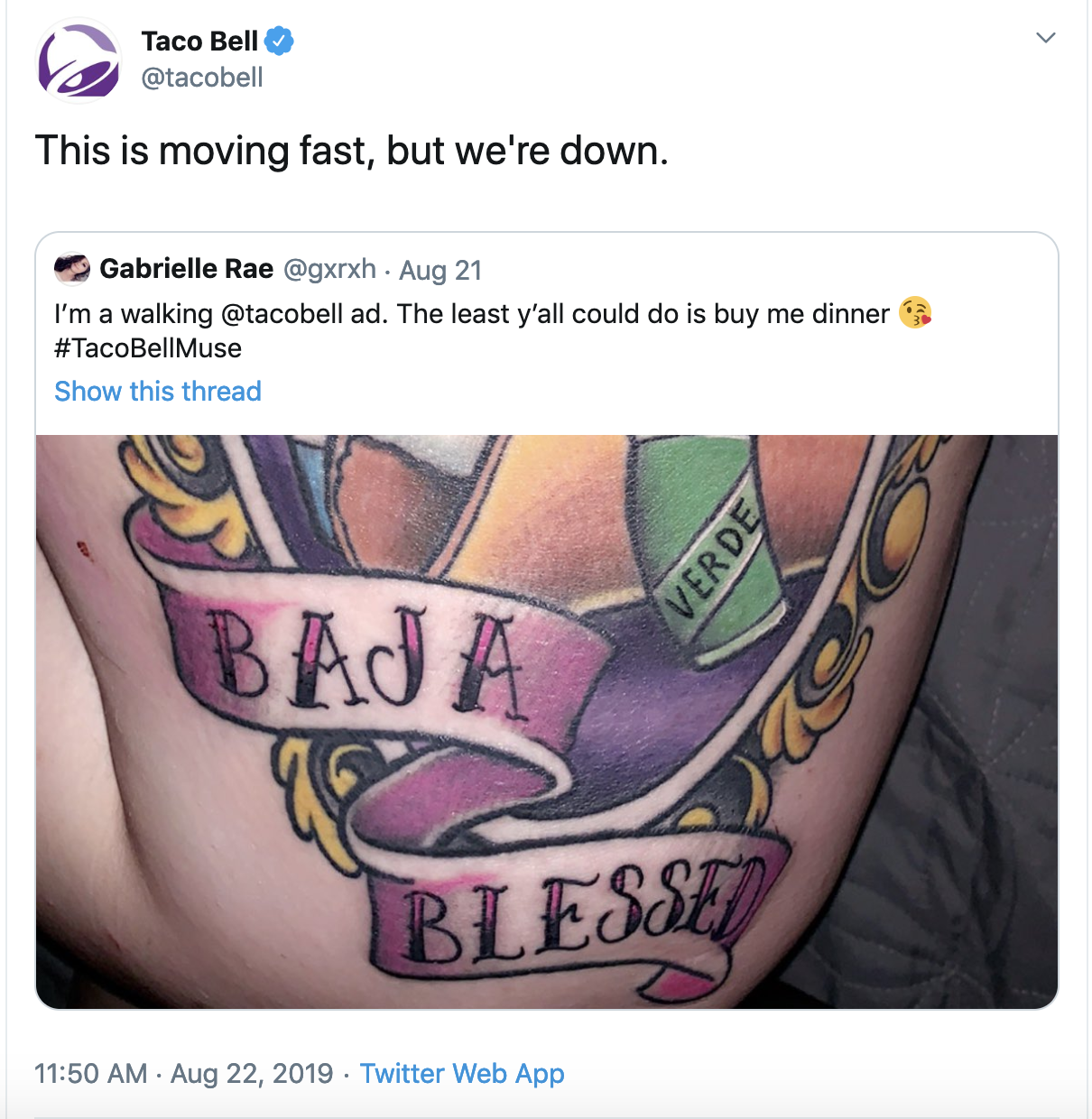 Taco Bell uses humor to delight customers on Twitter