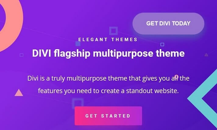 divi theme by elegant themes