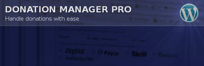 donation manager pro