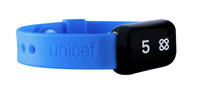Co-branding partnership between UNICEF and Target on Kid Power Bands