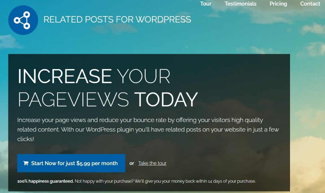Related Posts for WordPress plugin