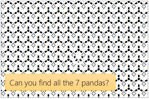 """find the pandas easter egg"" game in excel"