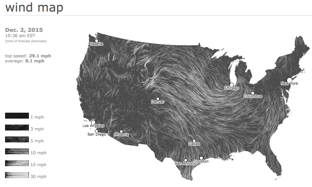 united states wind map data visualization example