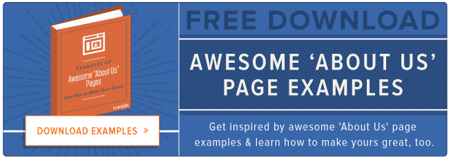 free about us page examples