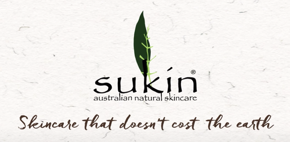 sukin skincare that doesn't cost the earth tagline