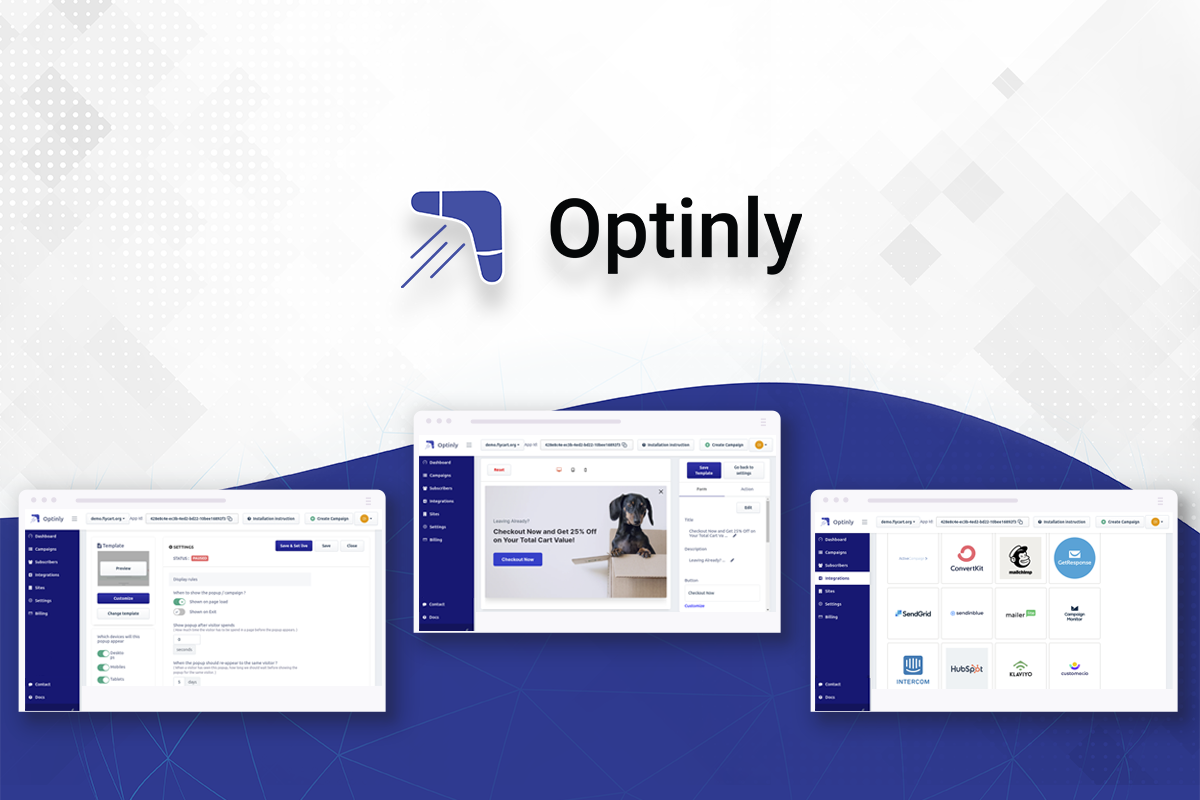 optinly lead generation plugin for your wordpress website
