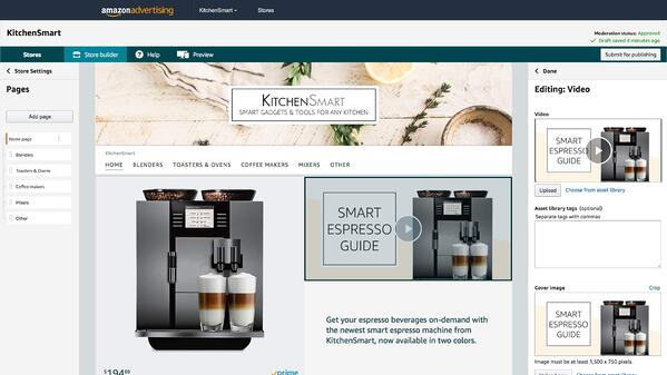 Kitchen Smart Amazon Store featuring their best products.